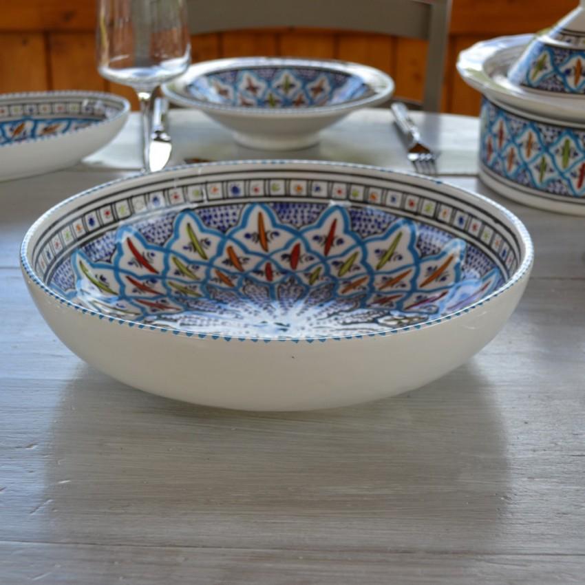 Jatte Bakir turquoise - D 26 cm