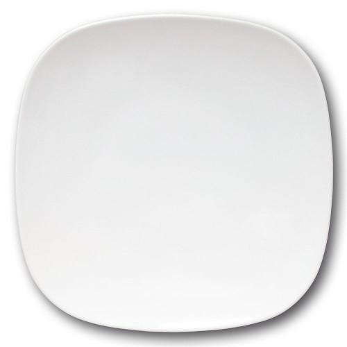 Assiette présentation porcelaine blanche - L 31 cm - Danubio