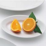 Assiette à dessert porcelaine blanche - D 20 cm