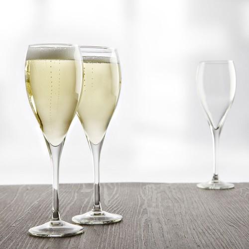 Lot de 6 flûtes à champagne Subirats 17 cL