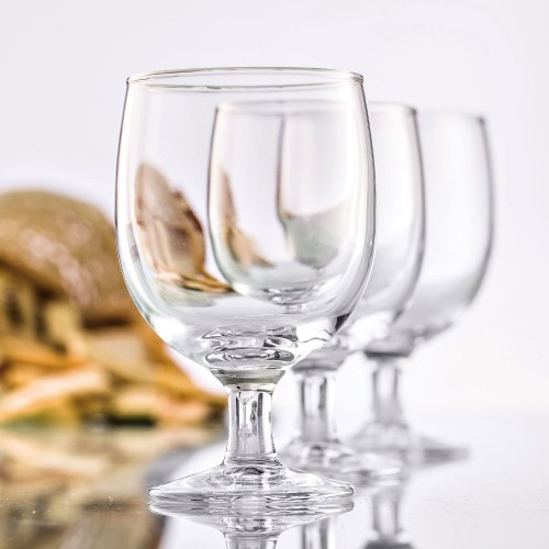 Lot de 6 verres à pied empilables Stack 25 cL