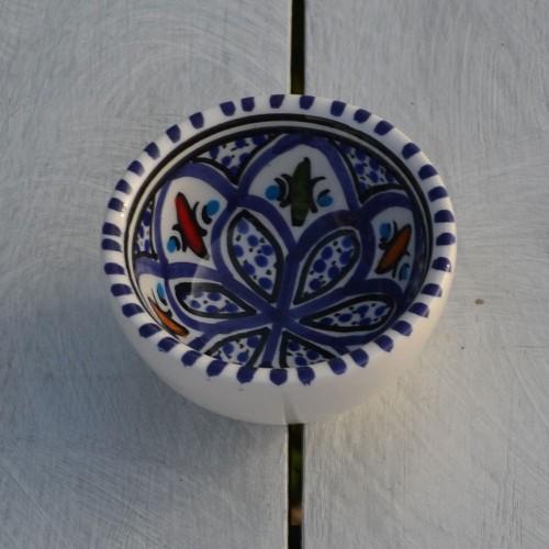 Bol Bakir bleu - D 8 cm
