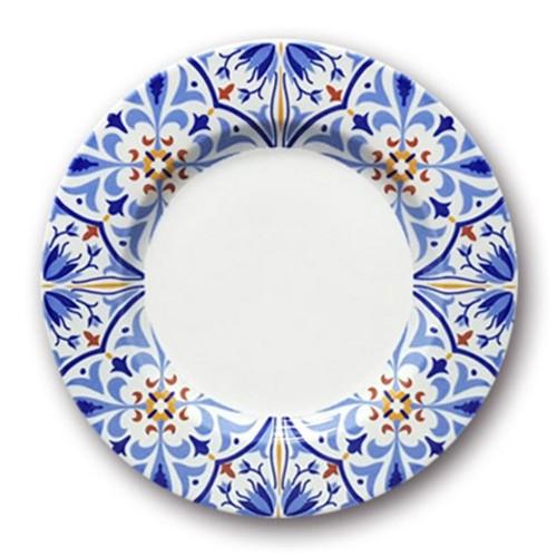 Lot de 6 assiettes plates Amalfi - D 26 cm
