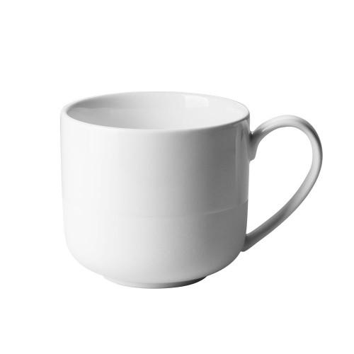 Mug Lunasol blanc et blanc mat 280 mL