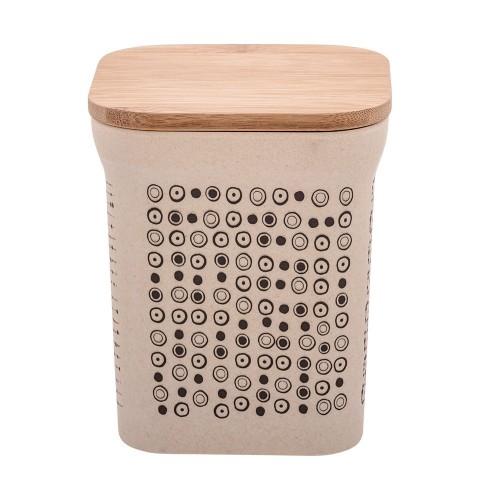 Boîte de conservation en fibre de bambou petit modèle