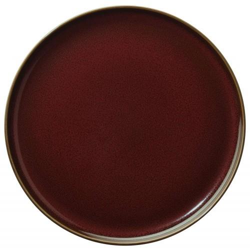 Assiette à entrée ou à dessert - D 21cm Rouge - Kolibri Rusty Red