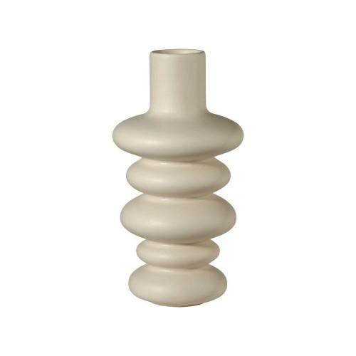 Vase Como Crème 5 Sphères - H 18 cm