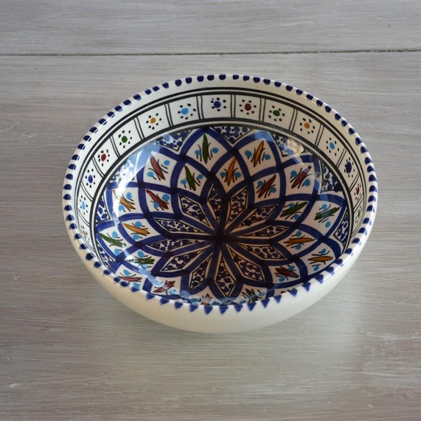 Bol Bakir bleu - D 18 cm