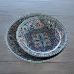 Jatte Marocain turquoise - D 25 cm