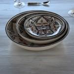 Jatte Marocain noir - D 20 cm