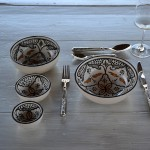 Bol Marocain noir - D 16 cm