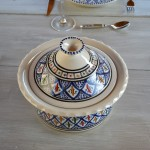 Cocotte Querouana Jileni bleu - D 20 cm