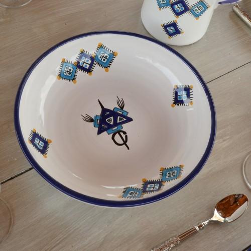 Jatte Sahel bleu - D 26 cm