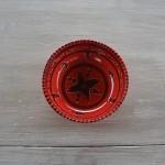 Service de table Tatoué rouge - 6 pers
