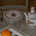 Service de table Sahel beige - 12 pers