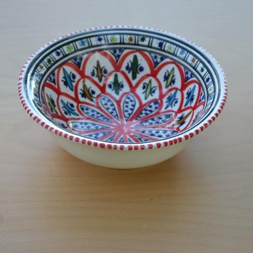 Saladier Bakir rouge - D 20 cm