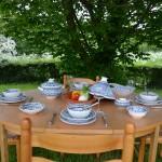 Service à soupe avec bols Bakir turquoise - 6 pers