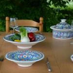 Service à couscous assiettes Tebsi Bakir Royal - 6 pers