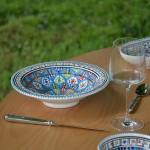 Service à couscous assiettes Tebsi Bakir Royal - 12 pers