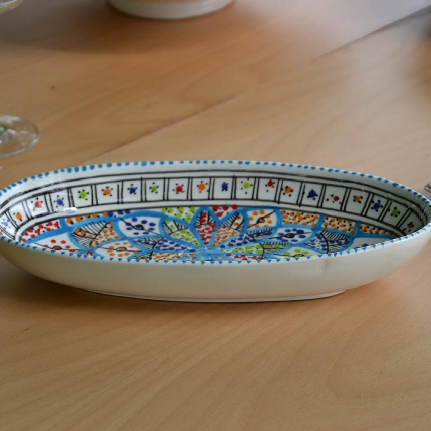 Plat ovale Bakir Royal - L 30 cm