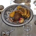 Service à couscous assiettes Tebsi Marocain noir - 8 pers