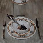 Service à soupe Sahel beige - 12 pers