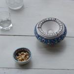 Cendrier Moyen modèle anti fumée Bakir turquoise - D 12 cm