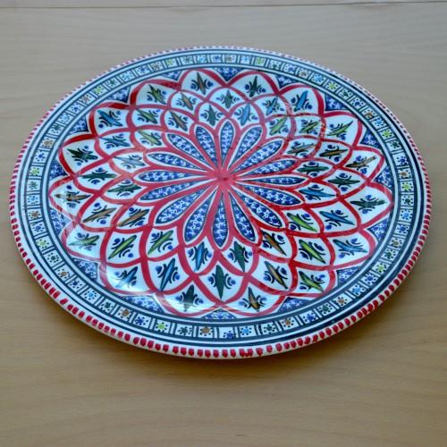 Plat à tarte Bakir rouge