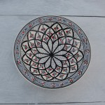 Assiette Tebsi Bakir gris - D 23 cm