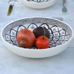 Service à couscous assiettes jattes Bakir gris - 12 pers