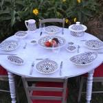 Service à couscous assiettes creuses Bakir gris - 8 pers