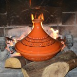 Tajine Marrakech Orange - D 31 cm traditionnel