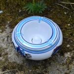 Cendrier oriental Sahel Bleu - Moyen modèle