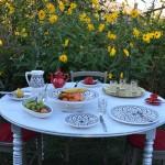 Service à dessert Bakir gris - 6 pers
