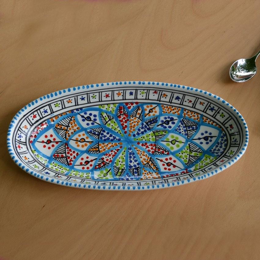 Plat ovale Bakir Royal - L 40 cm