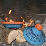 Tajine individuel Marrakech Bleu - D 23 cm traditionnel