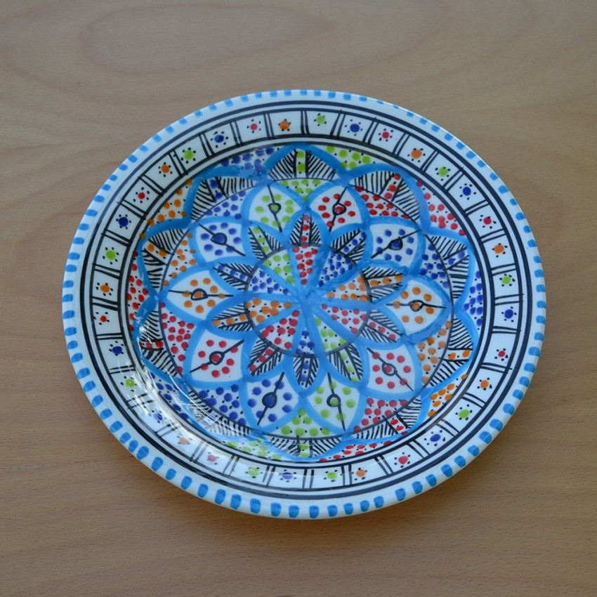 Assiette plate Bakir Royal - D 24 cm