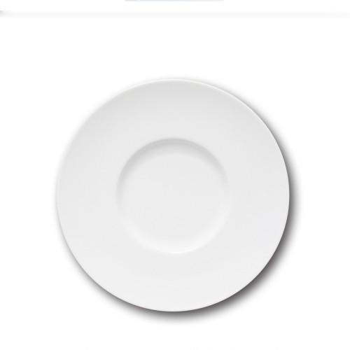 Assiette gourmet porcelaine blanche - D 31 cm - Napoli