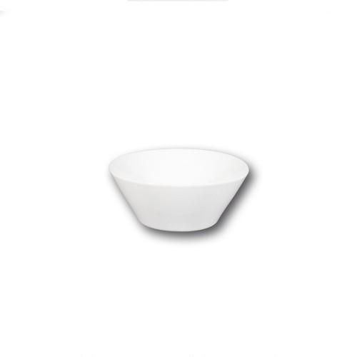 Bol conique porcelaine blanche - D 16 cm - Napoli