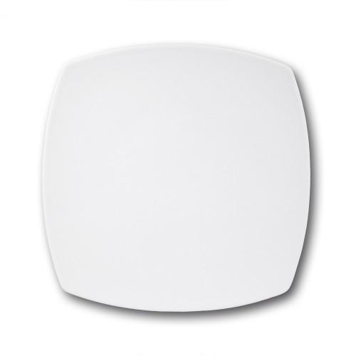 Assiette présentation porcelaine blanche - L 31 cm - Tokio