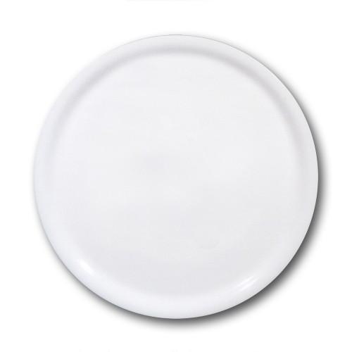 Assiette à pizza porcelaine blanche - D 33 cm - Napoli