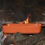Plat à lasagne, à gratin en terre cuite