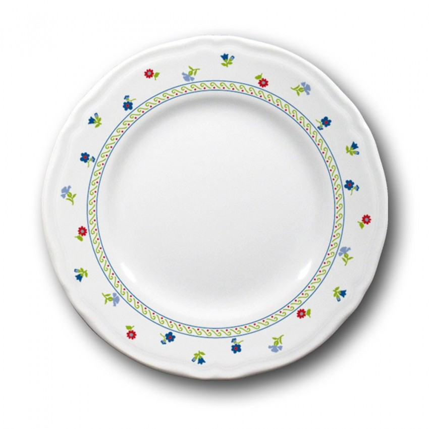 Service de table Fleurs 18 pièces