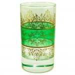 Lot de 6 verres à thé Shéhérazade Vert