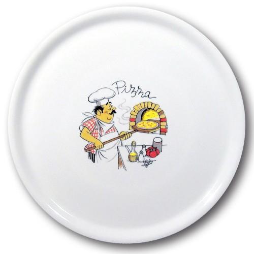Assiette à pizza Pizzaïolo - D 31 cm - Napoli