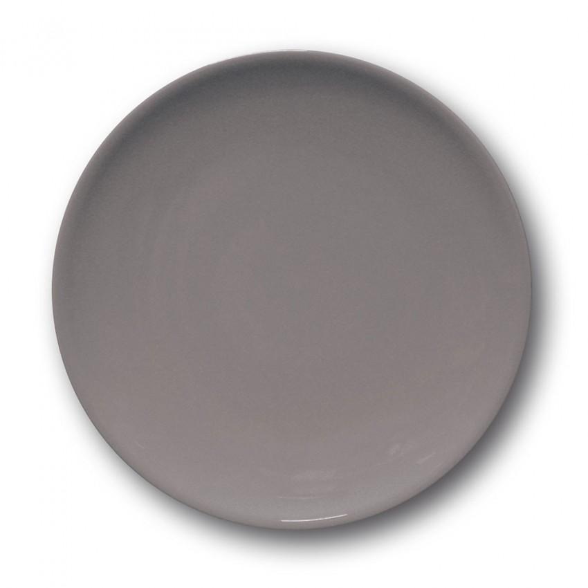 Assiette à entrée et à dessert Gris - D 21 cm - Siviglia
