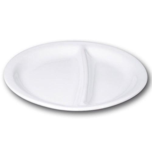 Assiette 2 compartiments - D 30 cm
