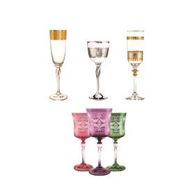 Nos collections de verres d'Egypte.⠀⠀⠀⠀⠀⠀⠀⠀⠀ De magnifiques verres à pied au décor travaillé⠀⠀⠀⠀⠀⠀⠀⠀⠀ .⠀⠀⠀⠀⠀⠀⠀⠀⠀ .⠀⠀⠀⠀⠀⠀⠀⠀⠀ .⠀⠀⠀⠀⠀⠀⠀⠀⠀ #verres #table #egypte #artdelatable #decoration #vaisselle #servicedetable #vaissellemariage #vaissellechic #faitmain #artisanal #artisanat #vaisselledeco #oriental